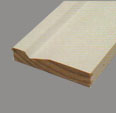 3 3/8 x 3/4 Wood Jamb